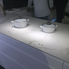 Kitchen Island With Cooktop Table For Small Space This Magic Hob Within A Worktop Is Called Tpb Tech.a ...