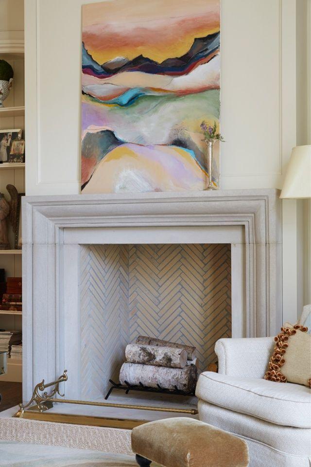 Best 25 Herringbone fireplace ideas on Pinterest  White fireplace surround Fireplace mantle