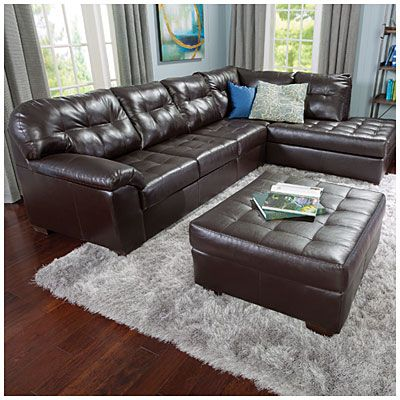 manhattan sectional sofa big lots children s set simmons® 2-piece | in home decorating ...