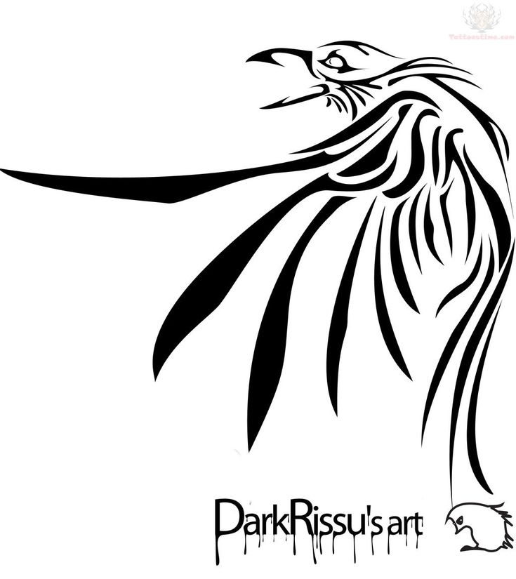 Raven Wings Tattoo Designs