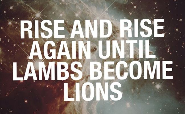Rise And Rise Again Until Lambs Become Lions Robin Hood