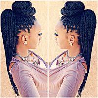 Top 25+ best Box braids styling ideas on Pinterest