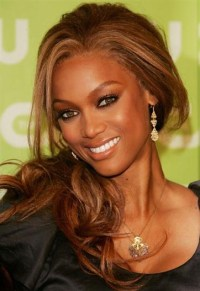 Tyra Banks, love her hair color and makeup! | Fix My Hair ...