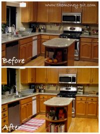 1000+ images about my honey oak cabinets revamp ideas on ...