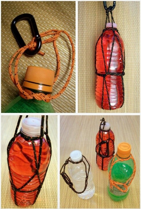 Paracord Bottle Sling Paracord Pinterest Bottle And