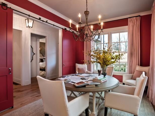 25+ Best Ideas About Red Dining Rooms On Pinterest