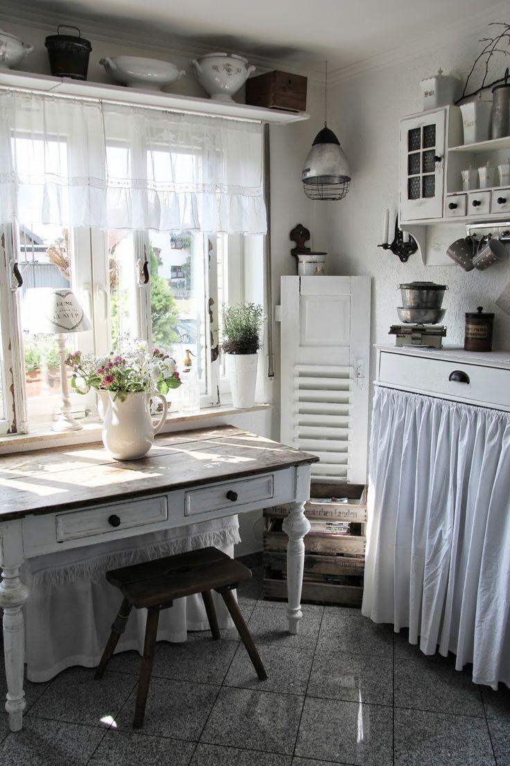 küchenfenster gestalten | fenster dekorieren dekoideen für