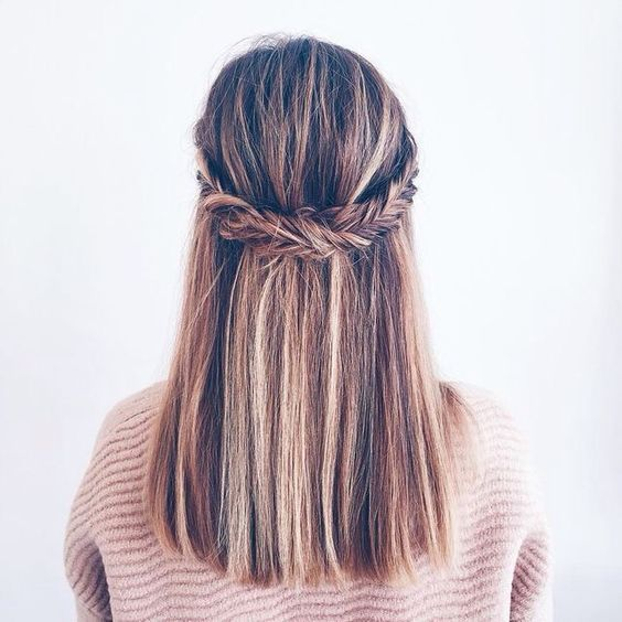 25 Best Ideas About Straight Hairstyles Prom On Pinterest