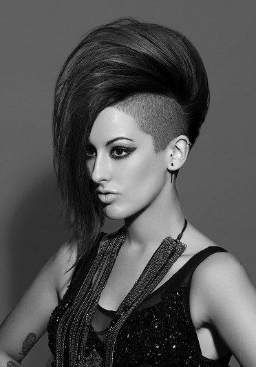 25 Best Ideas About Mohawk Hairstyles For Women On Pinterest