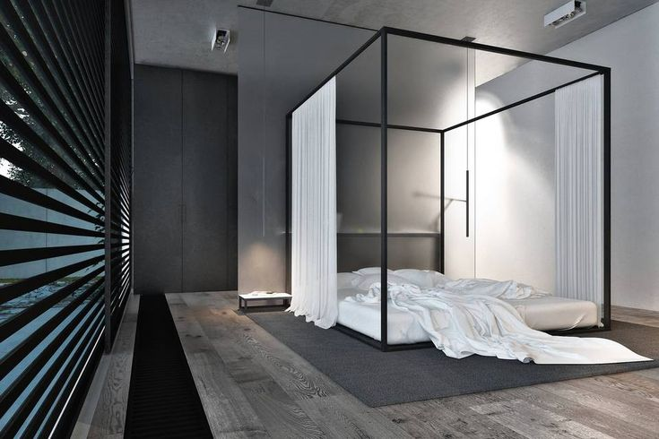 Can A Canopy Bed Ever Be Masculine Our Portica Canopy Bed
