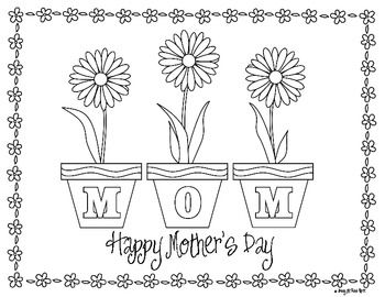 25+ best ideas about Mothers day coloring pages on