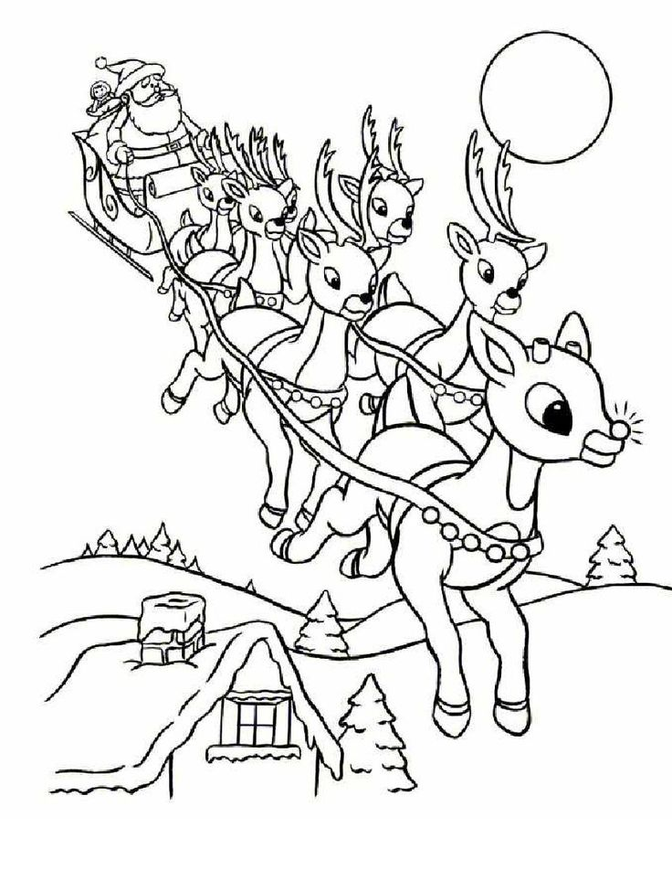 1000+ ideas about Christmas Coloring Pages on Pinterest