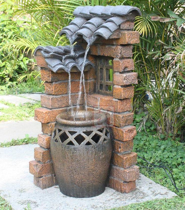 25 Best Ideas About Outdoor Water Fountains On Pinterest Garden