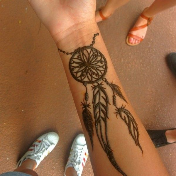 Small Simple Henna Tattoo Designs Wrist