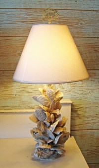 17 Best ideas about Shell Lamp on Pinterest
