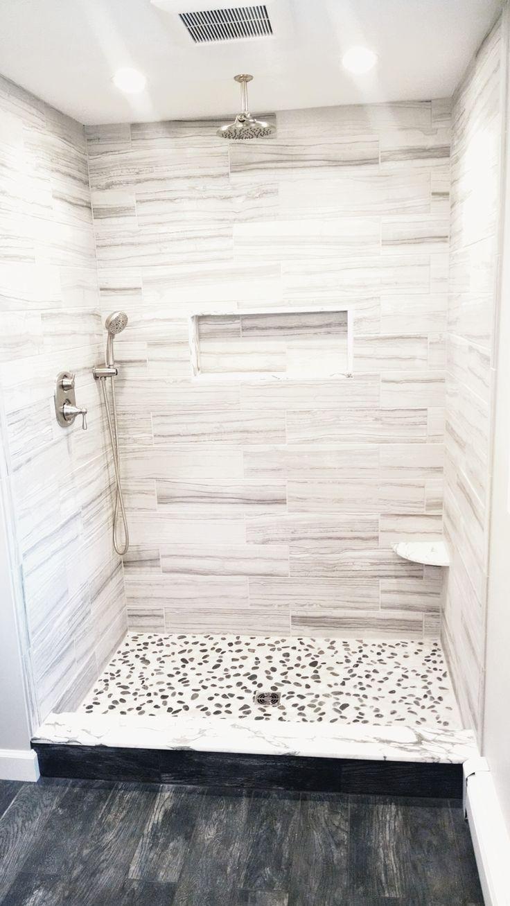 17 Best ideas about White Tile Shower on Pinterest