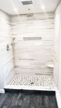 17 Best ideas about White Tile Shower on Pinterest
