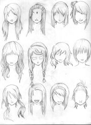 ideas hair reference