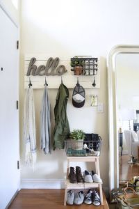 17+ best ideas about Entryway Coat Hooks on Pinterest