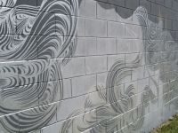 Fantastic Cinder Block Wall Painting | My Style ...
