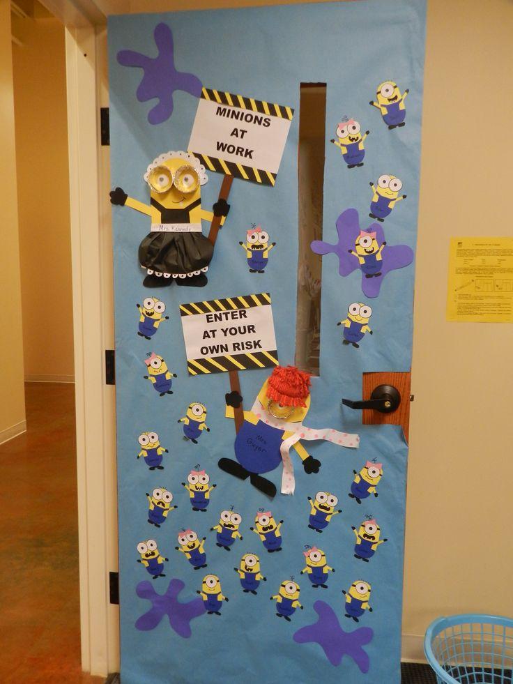 Minion Classroom Door Decoration Classroom Decorations