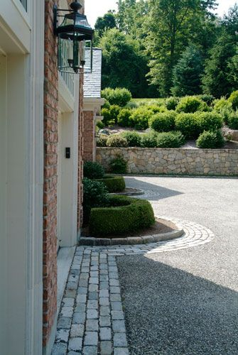 25 Best Driveway Ideas On Pinterest Back Gardens Yards And