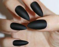 Best 25+ Matte black nail polish ideas on Pinterest