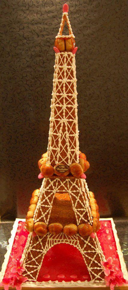 Tour Eiffel en choux  Pice monte de choux divers