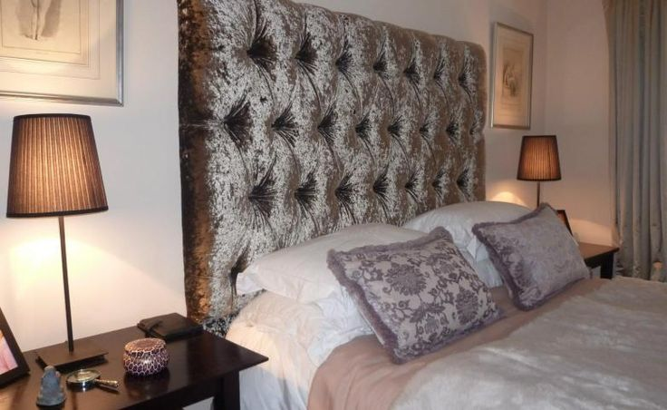 Velvet Headboard Crushed Velvet And Divas On Pinterest