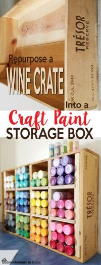 Best 20+ Craft paint storage ideas on Pinterest | Acrylic ...