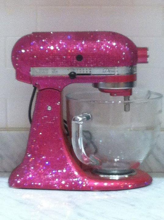 Kitchenaid Birthday Presents Kitchens Bling Diamonds Rings Pink