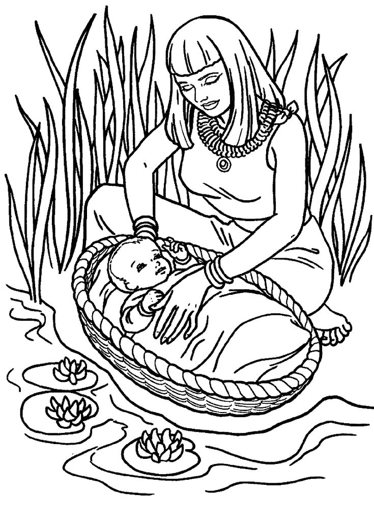 11 Best Exodus Coloring Pages Images
