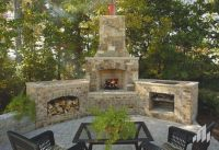 Cool Outdoor Fireplace and Grill | House Outside ...