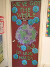 PK Earth Day door decoration | RA Ideas | Pinterest ...