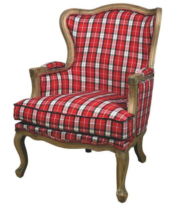 1000 ideas about Tartan Chair on Pinterest  Tartan decor