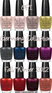 coming opi germany collection