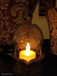 Oil lamps, Indian living rooms and Lamps on Pinterest