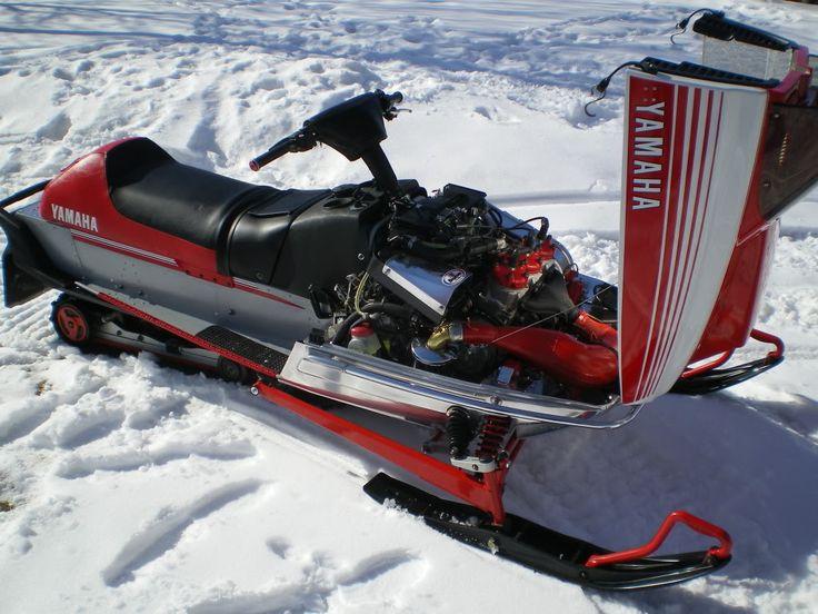 1980 Yamaha 250 Exciter Snowmobile