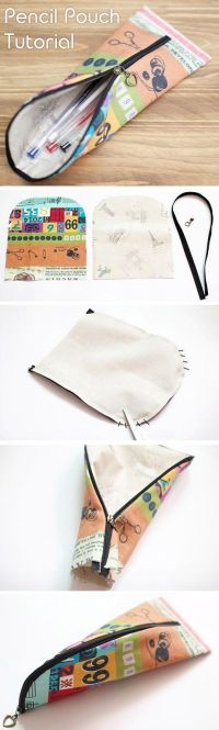 25+ best ideas about Sewing Pencil Cases on Pinterest