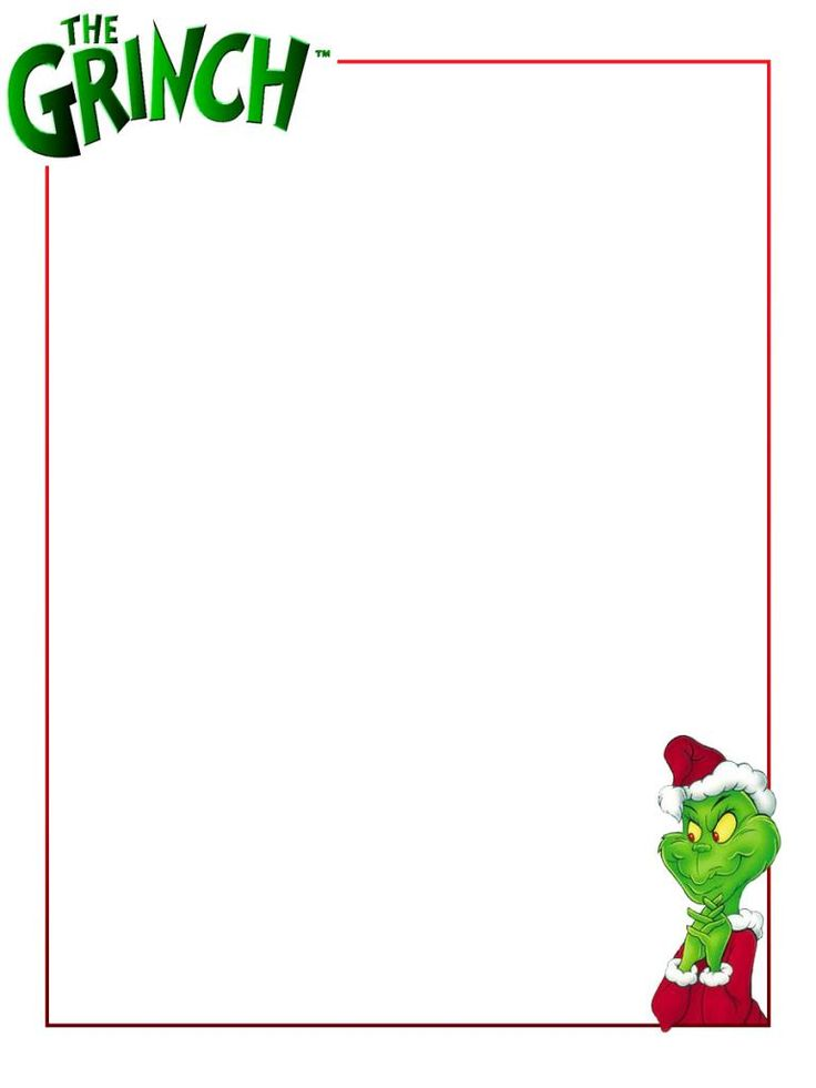 Grinch Template | Free Life Size Grinch Template