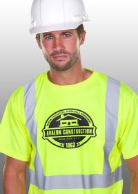 Construction t-shirt design on Safety Tees. | T-Shirt ...