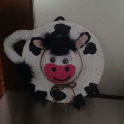 Amazon Round Chair Covers That Turns Into A Bed Shark Tank Cow Straw Hat Wreath | Crafts Pinterest Cow, Hats And Straws