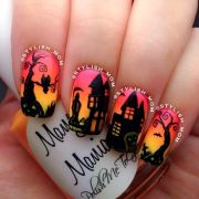 1000 ideas halloween nails