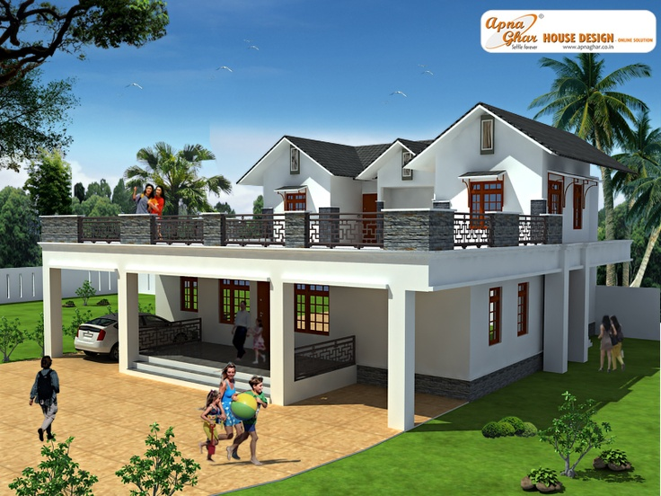 This Is A Beautiful Three Bedrooms Duplex House Design Ground