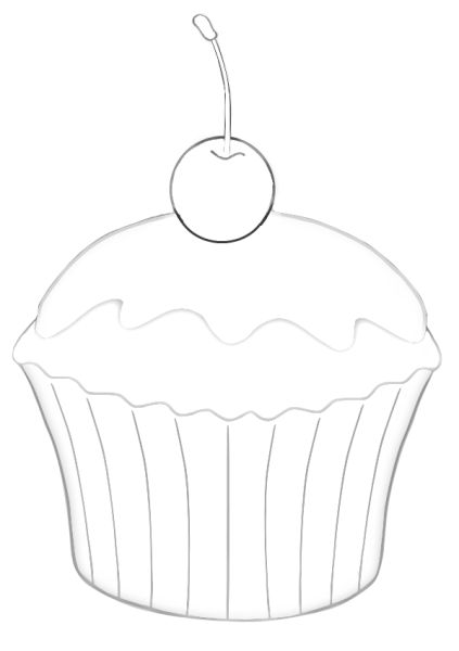14 best images about Cupcake template on Pinterest