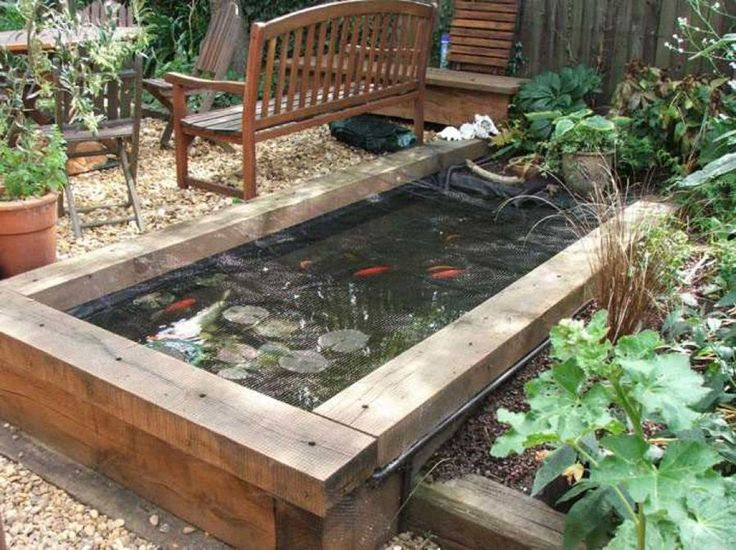 25 Best Ideas About Raised Pond On Pinterest Koi Pond Design