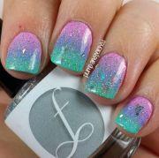 1000 ideas colorful nail
