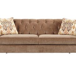 Ashley Red Leather Sofa Flexsteel Belmont Reclining Reviews Shop For A Cindy Crawford Home Meredith Taupe At ...