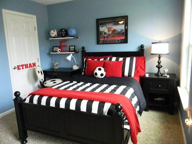 25 best ideas about Soccer bedroom on Pinterest  Soccer