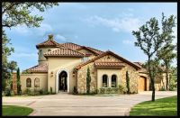 Mediterranean Tuscan Style Home/House | Mediterranean ...